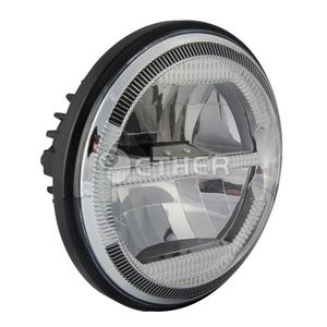 china manufacture Aluminum Housing motorcycle 5 inch round headlight for Yacht