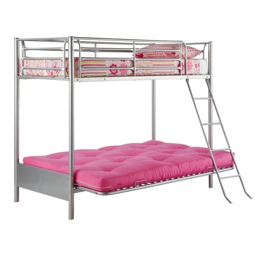 Single Bunk Bed With Futon Sofa