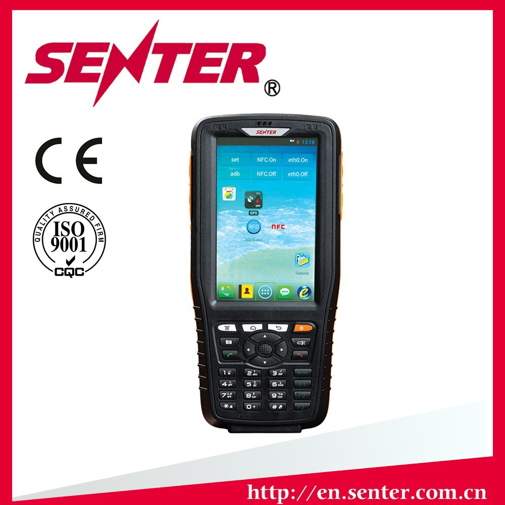 ST308 Rugged android phone with NFC RFID Android 4.1 Industrial PDA ST308 with GSM CDMA wifi gps 3G PDA barcode scanner PDA