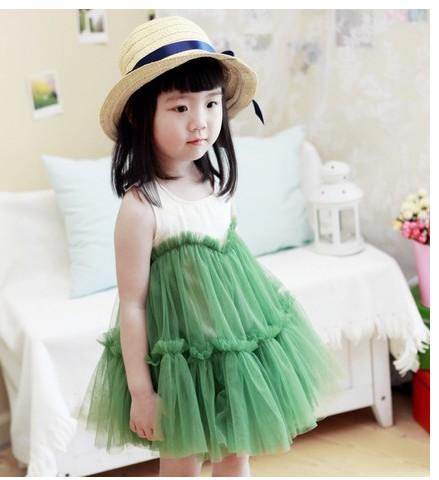 Vestidos verde manzana para nina