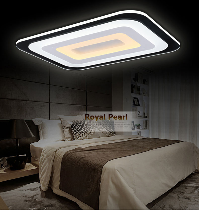 Unique design suspended dimmable lm80/w led acrylic ceiling light for restaurant