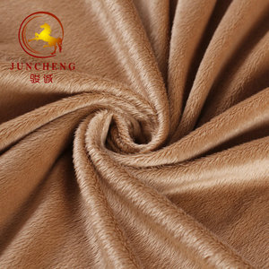 2mm 100% Polyester fabric velboa for Blanket, Home Textile, Shoes soft toys materials