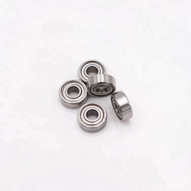 Miniature ball bearing 2*7*2.5mm MR72ZZ bearing manufacturing machinery