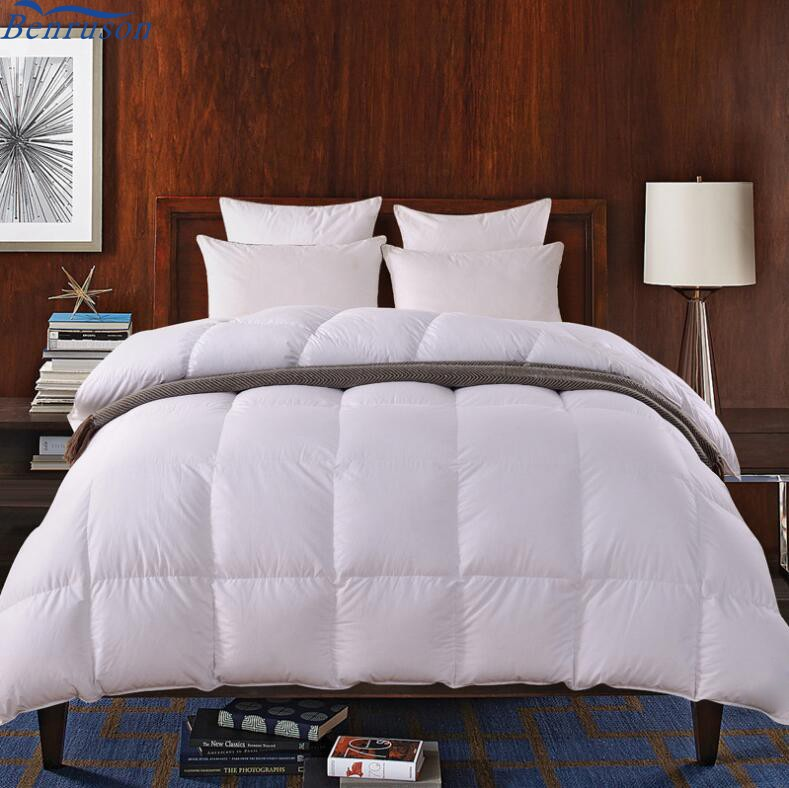 Brand names full king size bed hotel buy goose down feather fill microfiber blanket quilted home textile down comforter duvet