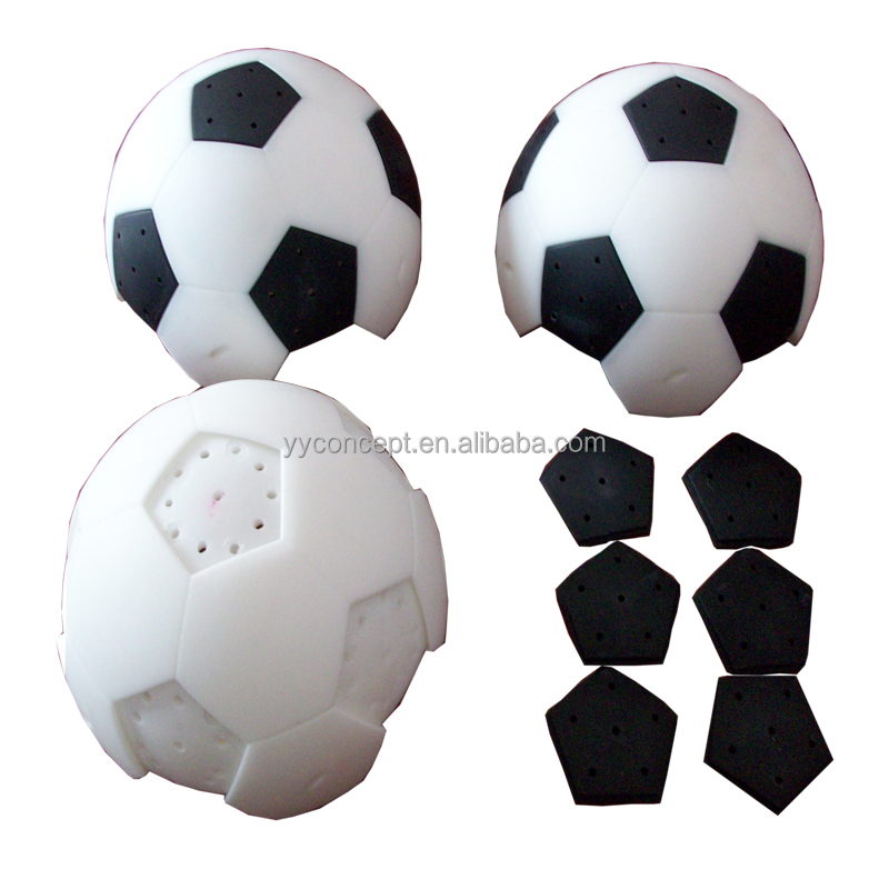 CNC rapid prototype football and Rubber Parts