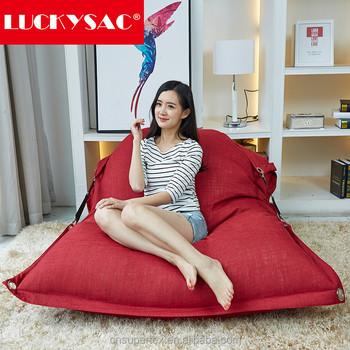 Floor Cushion Beanbag Large Pillow Sack Lazy Sofa