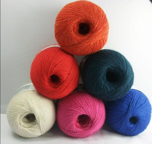 26/2 NM, 48/2 NM Woolen Knited 100% Cashmere Yarn