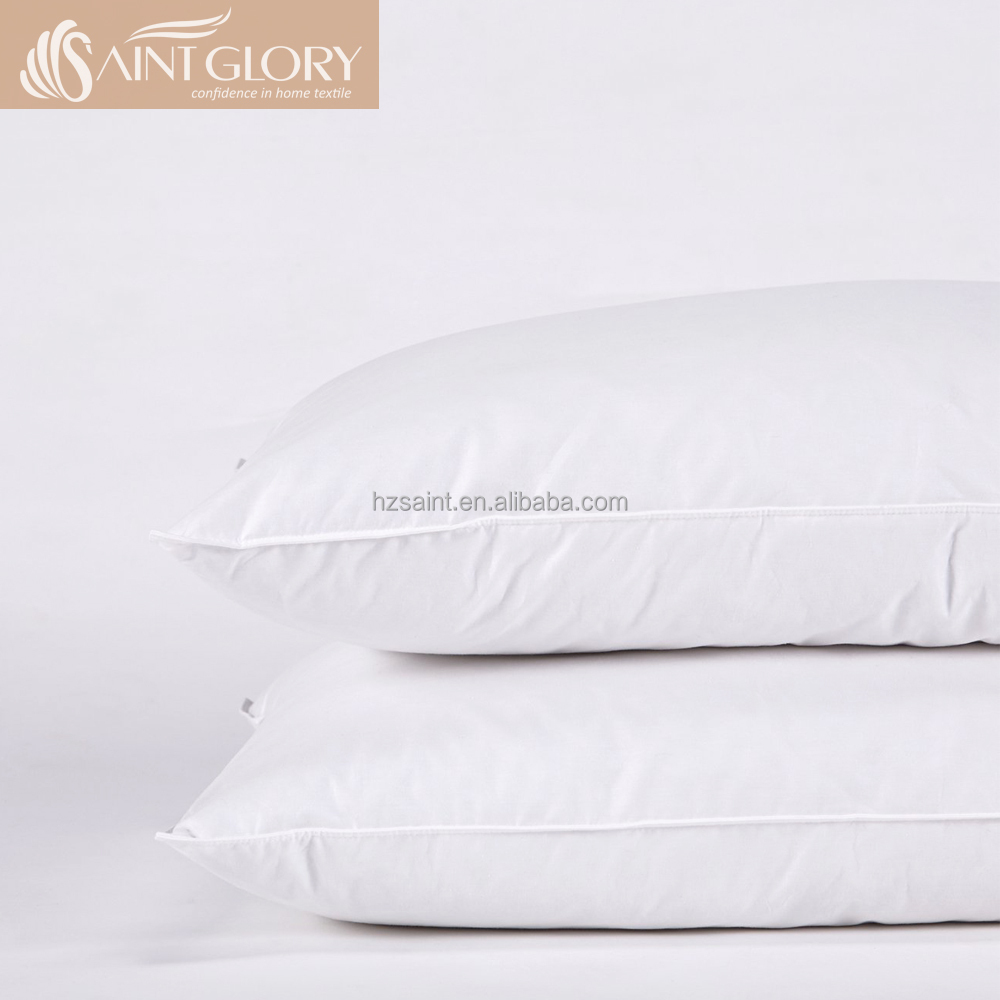 Wholesale Hotel Pillow Inner Polyester Hollow Fiber Vacuum Packing Pillow