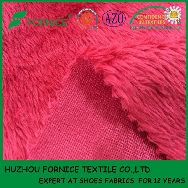 FORNICE TEXTILE China manufacturer of baby soft velour fleece fabric