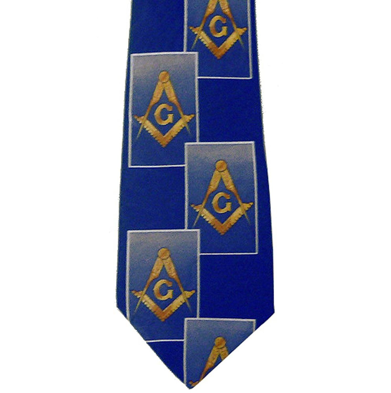 Scottish Rite Masonic Neck Tie Black Background Polyester long tie Double Eagle 32nd Degree pattern design for Freemasons