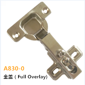 Furniture One Way Iron Door Hinge Full Overlay A830