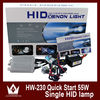 12V 55W Cars HID Bi Xenon Headlamp conversion lighting kit H1 H3 H7 H11 9005 9006 4300K 6000K 8000K parking accessories