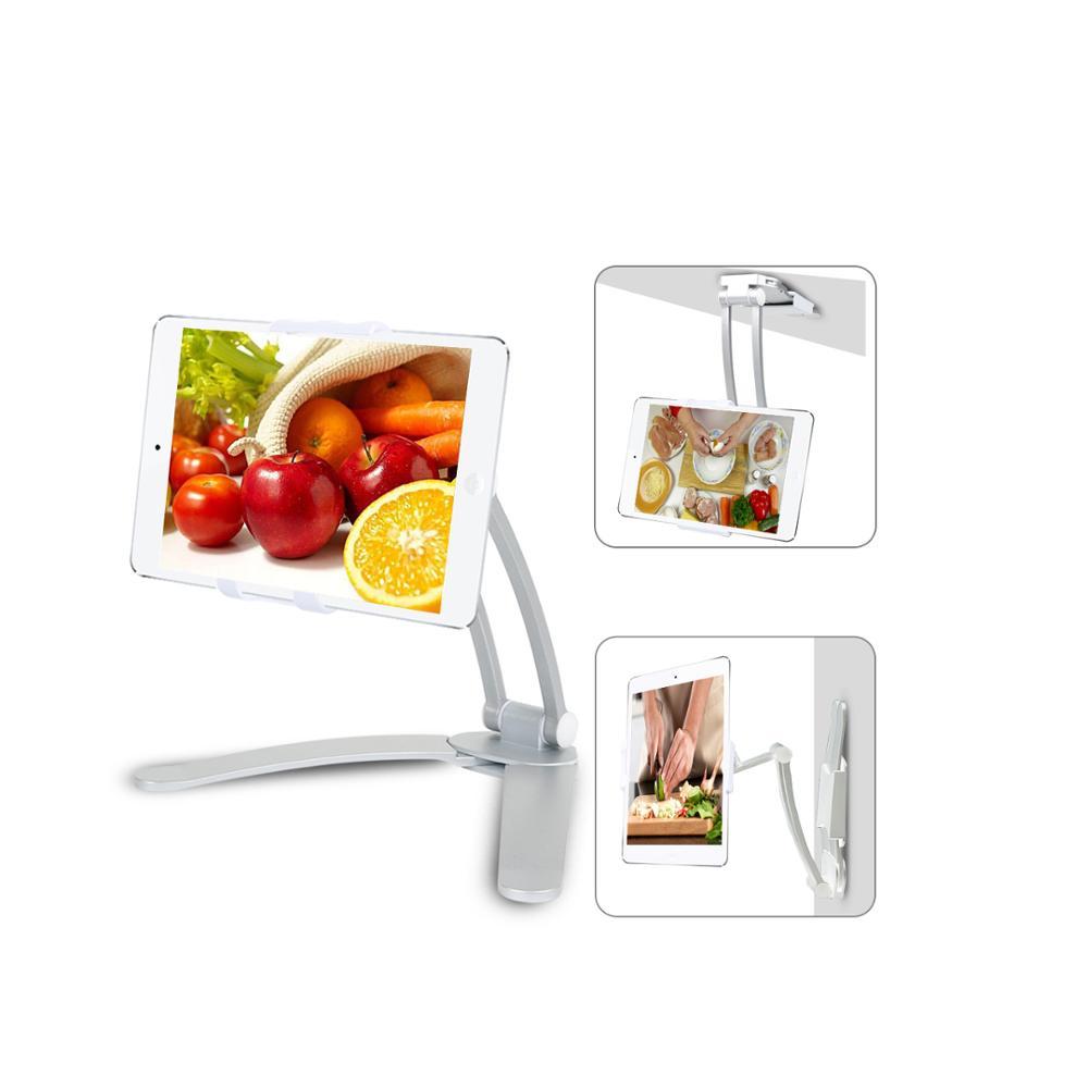 Armário de cozinha De Mesa De Telefone Celular Braço Tablet Montar Estande
