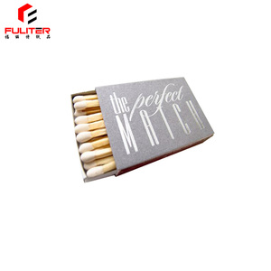2018 Wholesale Custom Recycled Real Empty Large Match Boxes