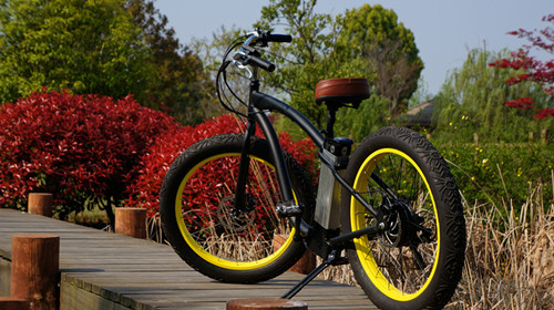 2014 new products full suspension fat tyre electric mountaion bike