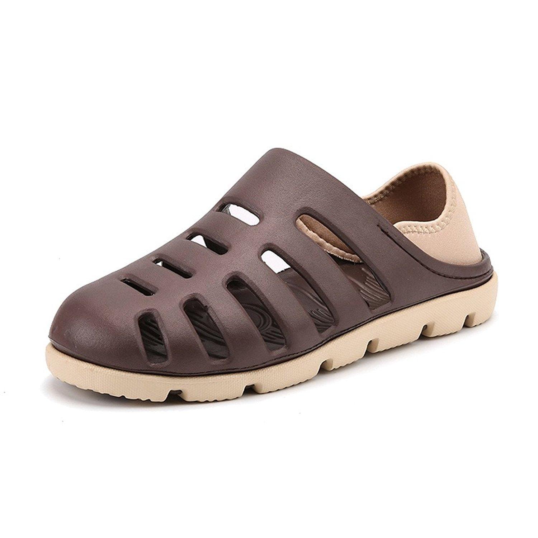 SCIEN Men's Summer Breathable EVA Sandals Beach Footwear Anti-Slip Garden Clog Shoes