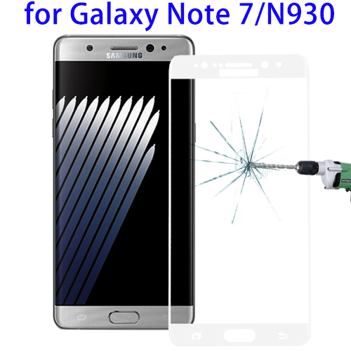 Tempered Glass Full Screen Film for Samsung Galaxy Note 7, 0.26mm 9H Screen Protector for Galaxy Note 7