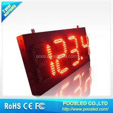 outdoor led gas price display changer