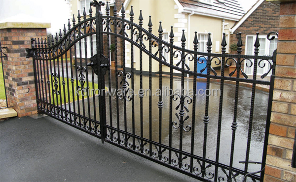 Used Home Iron Pipe Gate Design