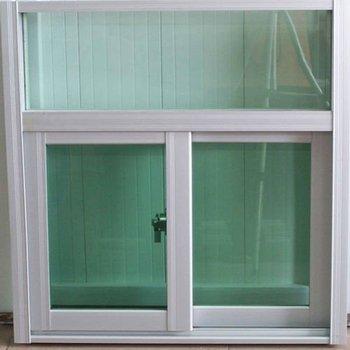 marco de aluminio blanco ventana de cristal doble cristal