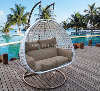 Two Seater Rattan Garden Furniture Two seater swing hanging chair used rattan garden treasure outdoor two seater swing hanging chair used rattan garden treasure outdoor furniture workwithnaturefo