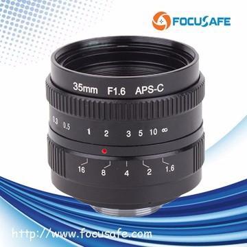 New 35mm F/1.6 C Mount Camera Lens