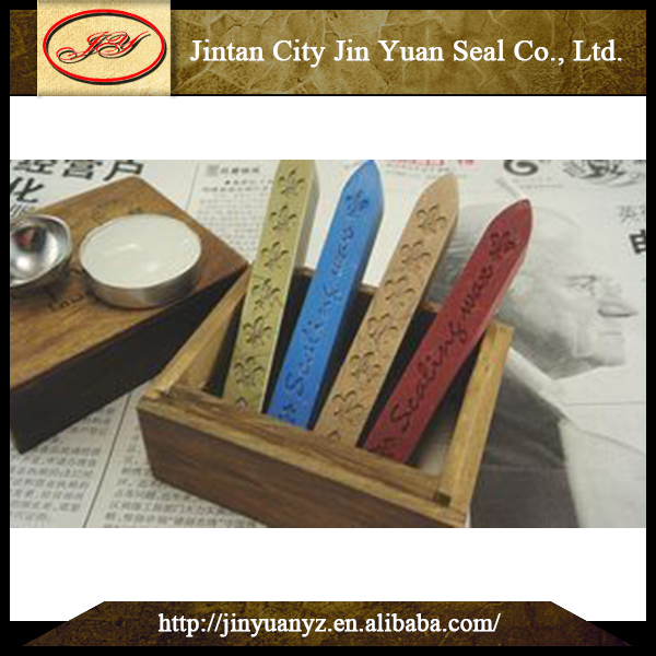 2018 New Design Low Price vintage gift box for wax seal stamp