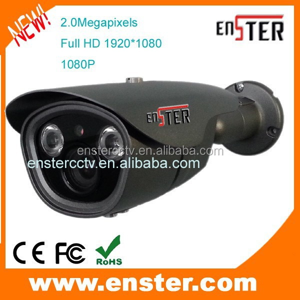 Hot-selling 1080P 2.0megapixels varifocal lens HD CVI camera adjust for Zoom&Focus 40m IR Range Waterproof bullet CCTV
