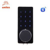 App Control Electronic Touch Screen Code Lock With Unlocking Smartphone App, Password, Key
