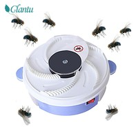 Electronic Housefly Trap, USB Powered Electric Fly Trap Device with Trapping Food, Physical Fly Catcher Pest Control