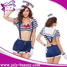 dd5f0e6257 2016 whoelsale marinero sexy lindo vestido de partido de lujo marino  disfraces mar náutico  span