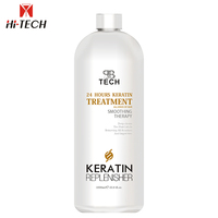 Hair nourishing nano ingredient straighten brazilian keratin hair treatment