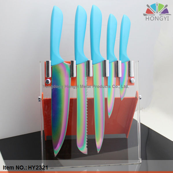 Rainbow Kitchen Knife Set, Rainbow Kitchen Knife Set Suppliers and ...
