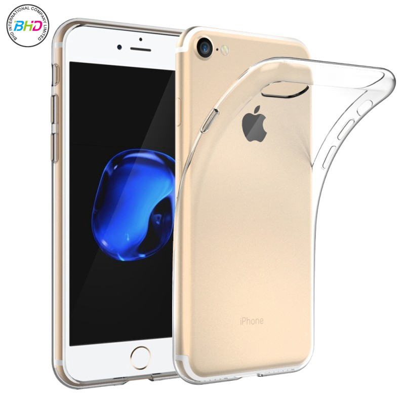 New product high quality for iphone 7 case TPU case for iphone 7 transparent price for iphone 7 cover