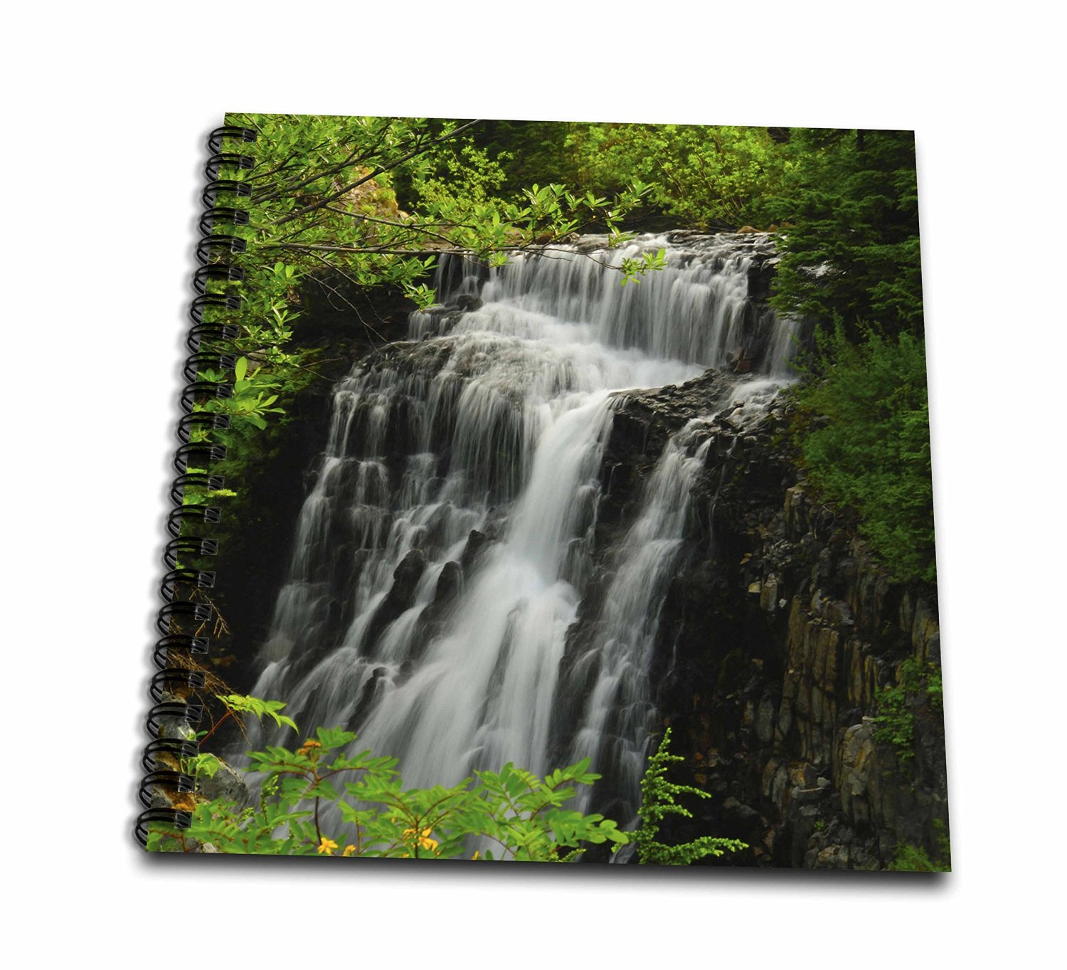 Danita Delimont - Waterfalls - Galena Creek Falls, Waterfalls, Washington, USA - US48 MHE0041 - Michel Hersen - Memory Book 12 x 12 inch (db_148383_2)