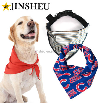 Wholesale Custom Print Logo Triangle Dog Bandana