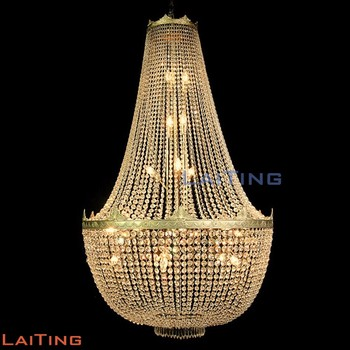 Big hanging crystal antique brass chandelier spare parts lighting big hanging crystal antique brass chandelier spare parts lighting pendant light 62063 aloadofball
