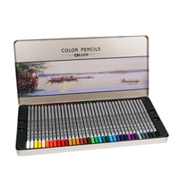 Premium Quality Soft Core Oil lead 72 Colored Drawing Pencils Set for Adult Coloring Books Artist Drawing Sketching Crafting