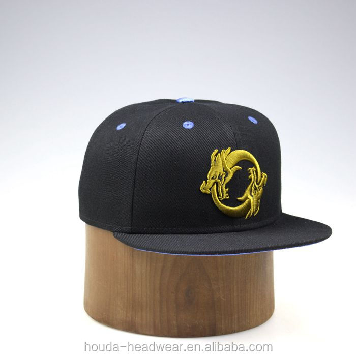 0d2e18d884a Hot Selling China Style Dragon Embroidery Snapback Hats - Buy Dragon ...