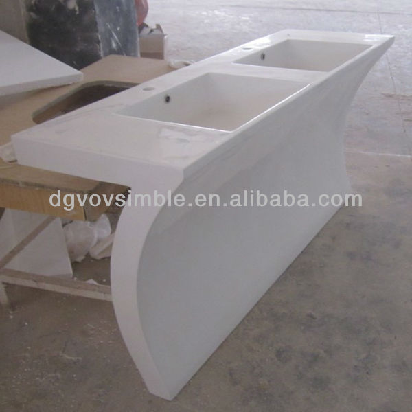 Chinese Factory Artificial Stone Resin Wash Basin