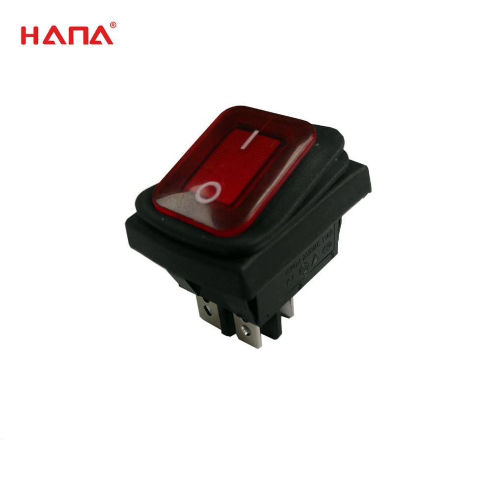 Hana 4 Pins T105/55 Kcd2 Rocker Switch Wiring Diagram - Buy Rocker ...