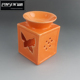 Wholesale tea light ceramic aroma oil burner with butterfly design
