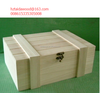 wooden crate case box with lock for shipping carrier