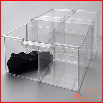 acrylic sweater drawer ider / clothes storage box / bra collection container & Acrylic Sweater Drawer Divider / Clothes Storage Box / Bra ...