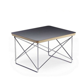 Hot Sell Replica Modern Classic Wire Base Side Table Plywood Table ...