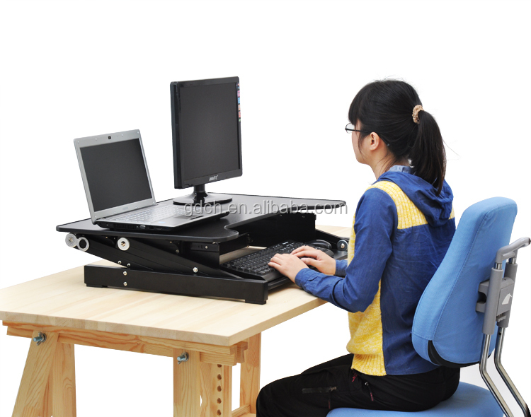 Amazing Wholesale Portable And Height Adjustable Standing Desk With Factory Bottom Price Buy Height Adjustable Standing Desk Sit Stand Desk Standing Desk Home Remodeling Inspirations Propsscottssportslandcom