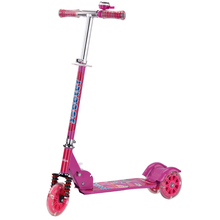 2017 hot sell fun toys kids foldable folding kick scooter with 120mm wheels