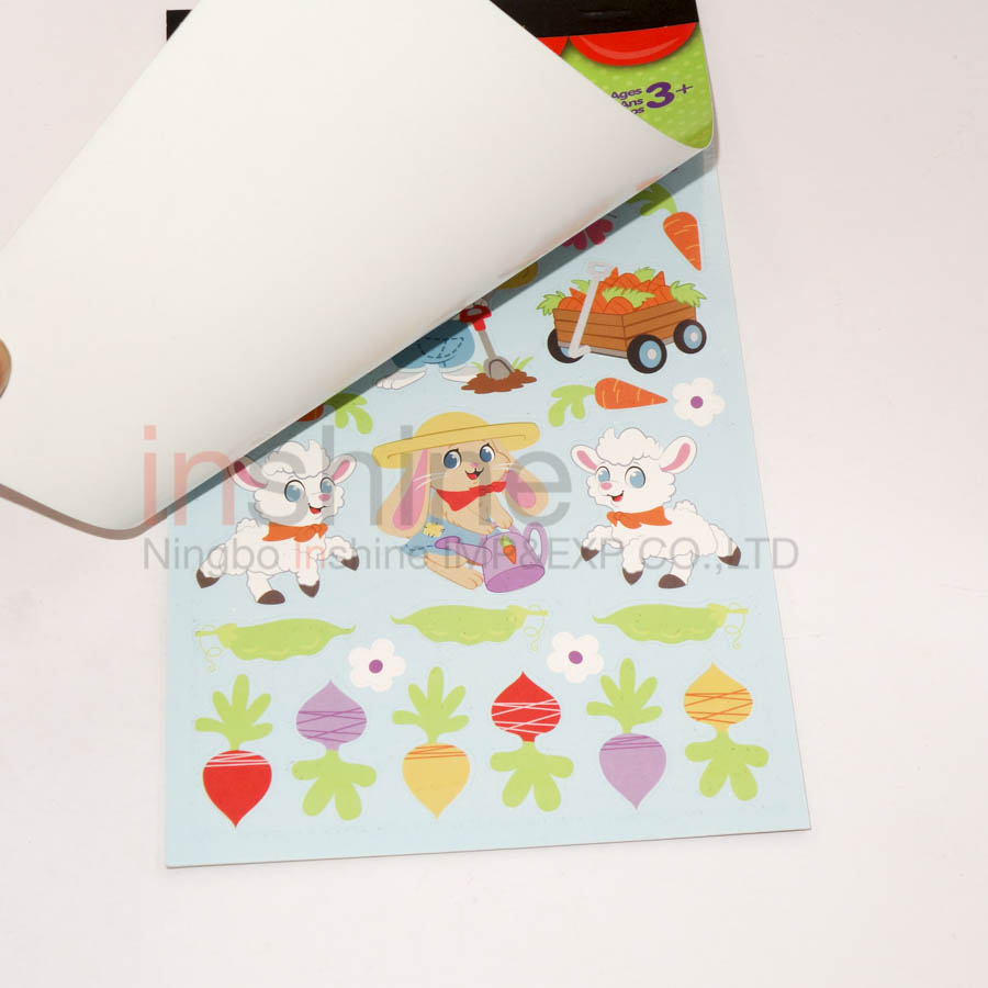 IN53591 Kids Easter Sticker Book , Easter Sticker Activity Book