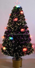 LED lights christmas tree,fiber optic christmas tree,mini tree christmas decoration supplies