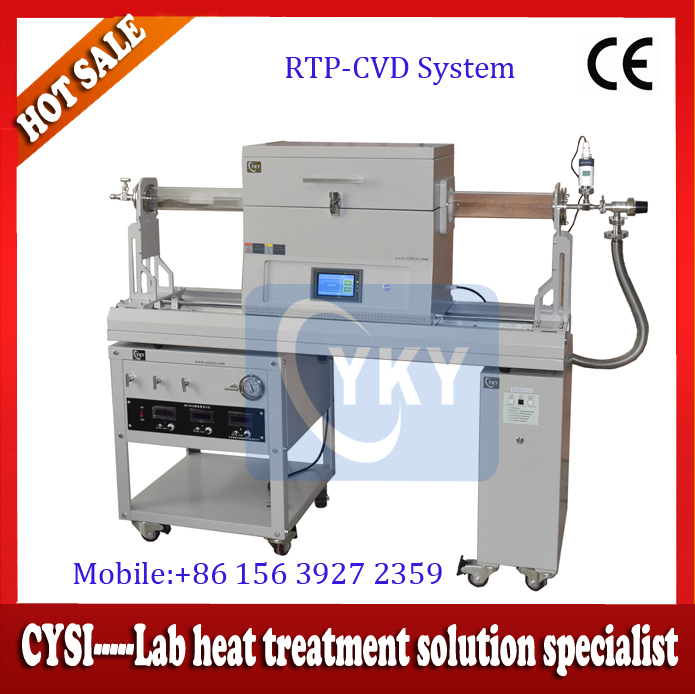 Laboratory Slidable CVD Graphene Furnace for Film Growing Electric CVD Furnace for ZnO and GaN Nanowires